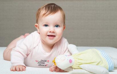איך התינוקת שלי הפסיקה להזיע בלילה